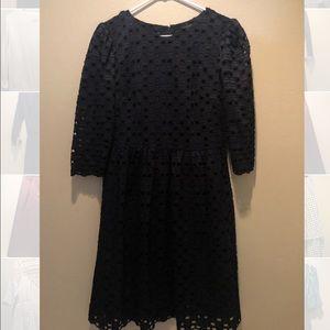 DARK BLUE/BLACK DRESS